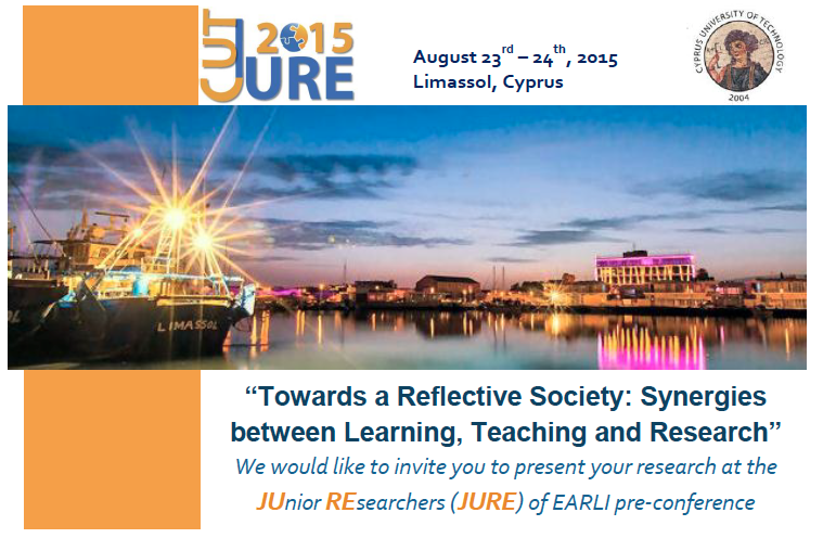 JURE 2015 conference in Cyprus